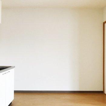 【DK】冷蔵庫の他に料理家電が多く置けそう