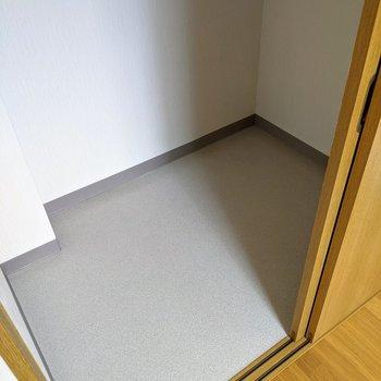 【6.6帖洋室】大容量、掃除道具や布団なども収納できそうですよ◎