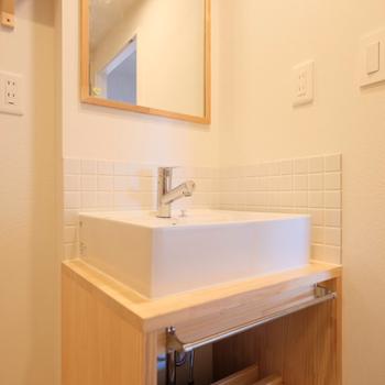 【イメージ】毎日使う洗面台がこんなにもかわいいなんて、、!