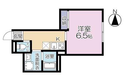 (仮称)横浜市南区弘明寺町77計画の間取り