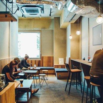 カフェスペースもあります。