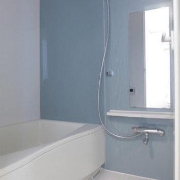 お風呂もゆとりがありますよ。(※写真は4階の同間取り別部屋のものです)