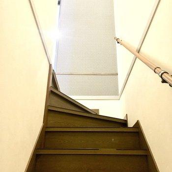 さて、2階へ行きましょう!