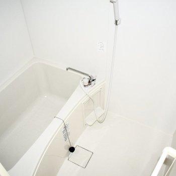 湯船もゆったりめ。※写真はフラッシュを使用しています。