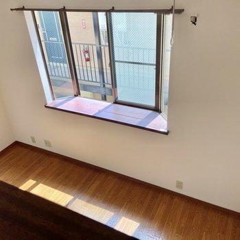 見下ろしてみるとこんな感じ。※写真は2階の同間取り別部屋のものです