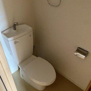 お手洗いはシンプルに。
