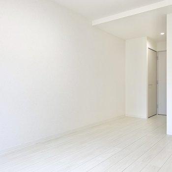 さて、どんなレイアウトにしましょうか。※写真は6階の同間取り別部屋のものです