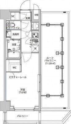 (仮)東京イーストサイドレジデンスの間取り