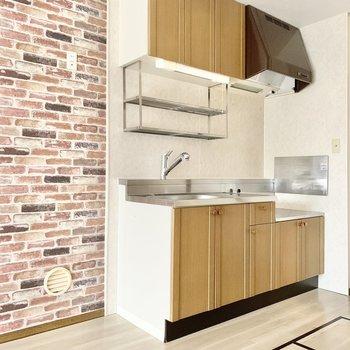 【LDK】キッチン横には冷蔵庫を置きましょう。