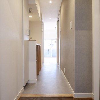 玄関を開けると広がる心地よい空間