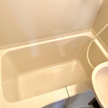 浴槽も十分な広さです。
