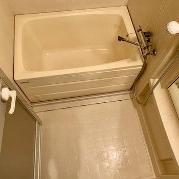 お風呂は収納が多く、使いやすそう!