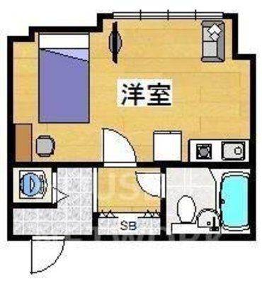ケンジントンハウス (2021年2月より 京都プラザホテル オフィススクエア)の間取り