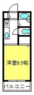 サンモール大和田B棟の間取り