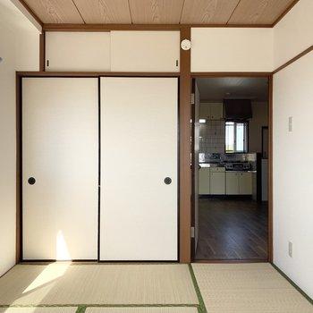 【和室】各部屋に収納付きが嬉しい!