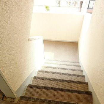 階段もほどよい幅があります。
