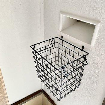【1階】郵便物はこちらに保管されます。