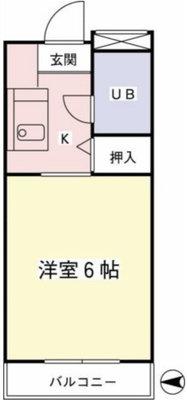グランドハイツ斉藤A棟の間取り