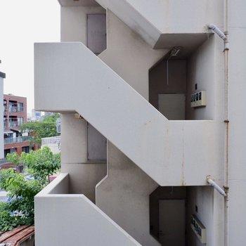 眺望は建物が。間近ではないです!※写真は前回募集時のものです