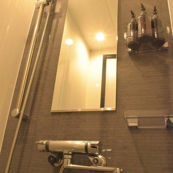 お風呂はシャワーブースのみの設置です。