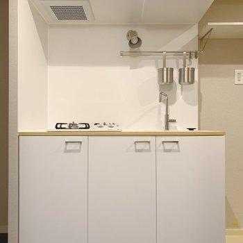 キッチンの白デザインが◎