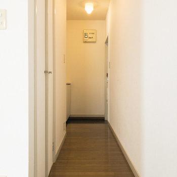 廊下です。左側に収納があります。※写真は前回募集時のものです