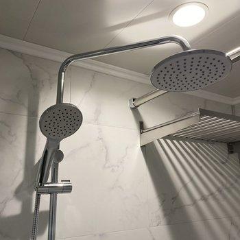 海外のアパルトマンのようなシャワー付!