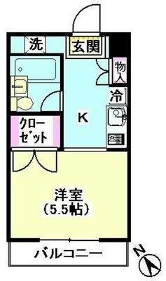 HOUSE・Kの間取り