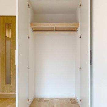 上部のスペースも有効活用できます。