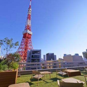 目の前には東京タワー!!!