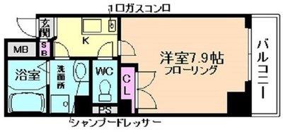 ODESSA北梅田の間取り