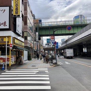 日比谷線秋葉原駅もすぐ近くに。