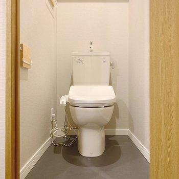 トイレはちゃんと独立しています