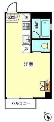 3Dアパートメントの間取り