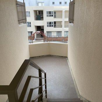 エレベーターがないので、階段で毎日運動です。