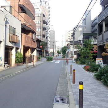 周辺環境】閑静な住宅街でした!