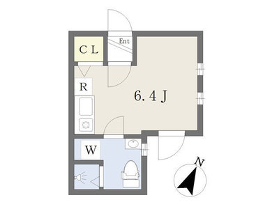 THE ROOM'S東十条の間取り