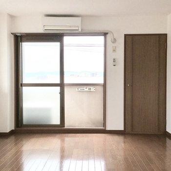 家具の配置がしやすそう◎(※写真は4階の同間取り別部屋のものです)