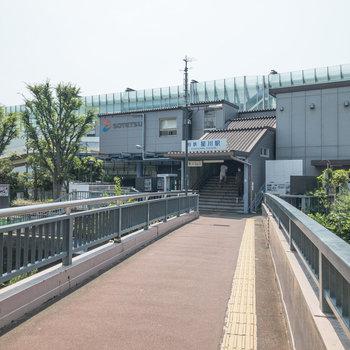 星川駅の北口が一番お部屋に近い出口です。