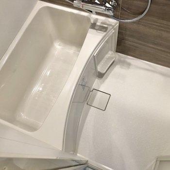 洗い場スペースもしっかり確保。