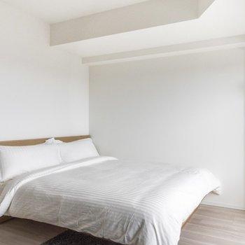 【家具付きプラン】毎日快適な睡眠がとれそうですね。