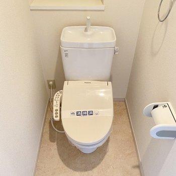 トイレはウォシュレット付きです◯