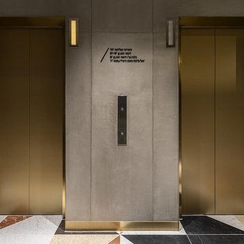 【共用部】ルドなエレベーター。リッチな印象を受けます。