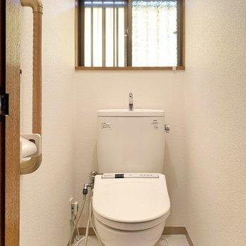 こちらも新しくなったトイレです。