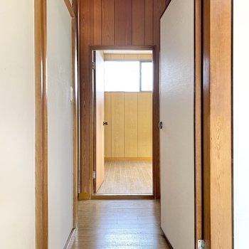 和室の向かい側が、北側の洋室です。