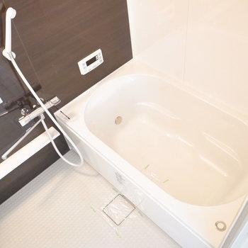 お風呂は狭さはなく、ゆっくりできそうです。