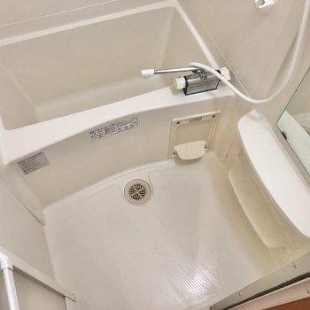 洗い場スペースも確保されていますね。