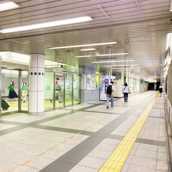 西新宿五丁目の駅