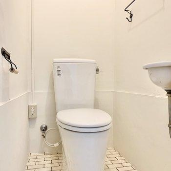 トイレにはかわいいがギュッと。