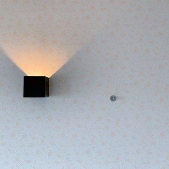 ぽっ!と色づく、灯りが可愛らしい◯(※写真は6階の同間取り別部屋のものです)